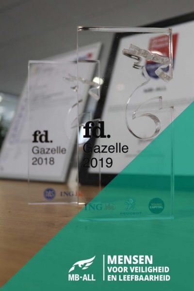 FD Gazellen awards voorgaande jaren